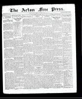 Acton Free Press (Acton, ON), October 15, 1931