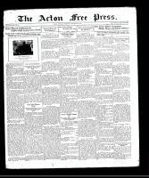 Acton Free Press (Acton, ON), October 22, 1931
