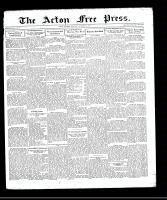 Acton Free Press (Acton, ON), October 29, 1931