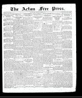 Acton Free Press (Acton, ON), November 26, 1931