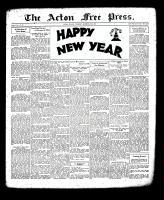 Acton Free Press (Acton, ON), December 27, 1934