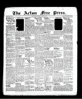 Acton Free Press (Acton, ON), January 13, 1938