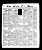 Acton Free Press (Acton, ON), February 10, 1938