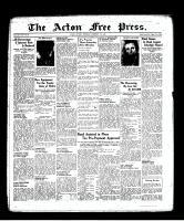 Acton Free Press (Acton, ON), February 17, 1938