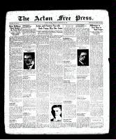Acton Free Press (Acton, ON), February 24, 1938