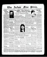 Acton Free Press (Acton, ON), March 10, 1938