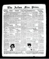 Acton Free Press (Acton, ON), March 24, 1938