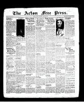 Acton Free Press (Acton, ON), April 21, 1938