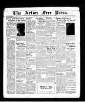 Acton Free Press (Acton, ON), May 5, 1938