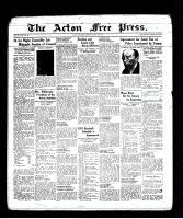 Acton Free Press (Acton, ON), May 12, 1938