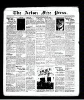 Acton Free Press (Acton, ON), May 19, 1938