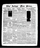 Acton Free Press (Acton, ON), June 16, 1938