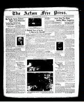 Acton Free Press (Acton, ON), June 23, 1938