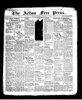 Acton Free Press (Acton, ON), June 30, 1938