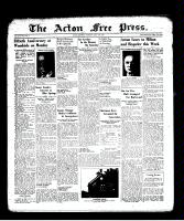 Acton Free Press (Acton, ON), July 14, 1938