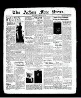 Acton Free Press (Acton, ON), July 21, 1938