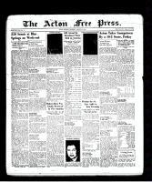 Acton Free Press (Acton, ON), August 4, 1938
