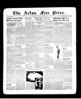 Acton Free Press (Acton, ON), September 15, 1938