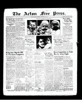 Acton Free Press (Acton, ON), September 29, 1938