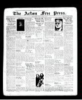 Acton Free Press (Acton, ON), October 13, 1938