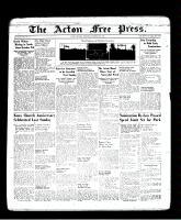 Acton Free Press (Acton, ON), October 20, 1938