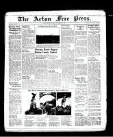 Acton Free Press (Acton, ON), November 10, 1938