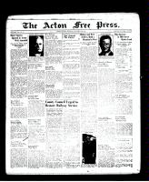 Acton Free Press (Acton, ON), November 24, 1938