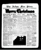 Acton Free Press (Acton, ON), December 22, 1938