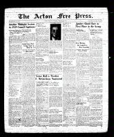 Acton Free Press (Acton, ON), January 19, 1939