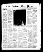 Acton Free Press (Acton, ON), May 25, 1939