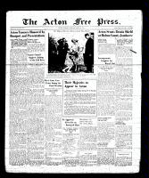 Acton Free Press (Acton, ON), June 1, 1939