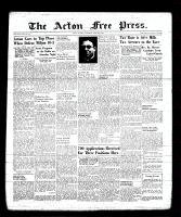 Acton Free Press (Acton, ON), June 22, 1939
