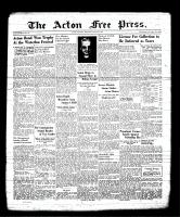 Acton Free Press (Acton, ON), June 29, 1939