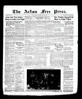 Acton Free Press (Acton, ON), July 27, 1939