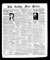 Acton Free Press (Acton, ON), August 3, 1939