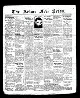 Acton Free Press (Acton, ON), August 31, 1939