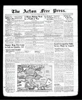 Acton Free Press (Acton, ON), September 7, 1939