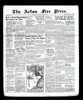 Acton Free Press (Acton, ON), September 14, 1939
