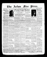 Acton Free Press (Acton, ON), September 21, 1939