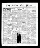 Acton Free Press (Acton, ON), October 5, 1939
