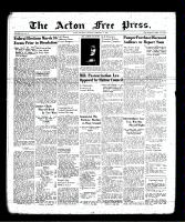 Acton Free Press (Acton, ON), February 1, 1940