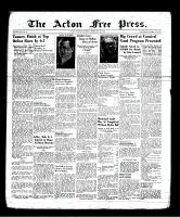 Acton Free Press (Acton, ON), February 22, 1940