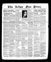 Acton Free Press (Acton, ON), February 29, 1940