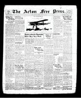 Acton Free Press (Acton, ON), August 15, 1940
