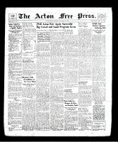 Acton Free Press (Acton, ON), September 19, 1940