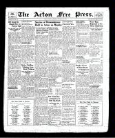 Acton Free Press (Acton, ON), November 14, 1940