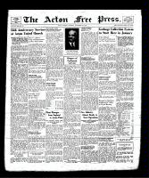 Acton Free Press (Acton, ON), November 21, 1940