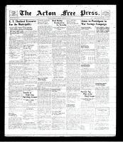 Acton Free Press (Acton, ON), February 6, 1941