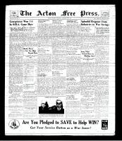 Acton Free Press (Acton, ON), February 20, 1941