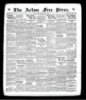 Acton Free Press (Acton, ON), October 9, 1941